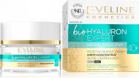 Eveline Cosmetics - Bio Hyaluron Expert - Przeciwzmarszczkowy krem koncentrat silnie ujędrniający - Dzień/Noc - 40+