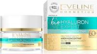 EVELINE - Bio Hyaluron Expert - Multiodżywczy krem koncentrat silnie odbudowujący - Dzień/Noc - 60+