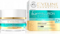 EVELINE - Bio Hyaluron Expert - Głęboko nawilżający krem eliksir na pierwsze zmarszczki - Dzień/Noc - 30+