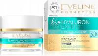 Eveline Cosmetics - Bio Hyaluron Expert - Głęboko nawilżający krem eliksir na pierwsze zmarszczki - Dzień/Noc - 30+