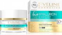 EVELINE - Bio Hyaluron Expert - Liftingujący krem koncentrat wypełniający zmarszczki - Dzień/Noc - 50+