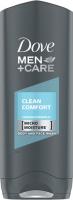 Dove - Men+Care - Clean Comfort - Body and Face Wash - Żel pod prysznic do mycia twarzy i ciała dla mężczyzn - 400 ml