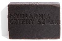 Mydlarnia Cztery Szpaki - Mydło naturalne z peelingiem z pestek porzeczki - Porzeczka - 110 g