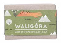 Mydlarnia Cztery Szpaki - Mydło naturalne do włosów i brody dla mężczyzn - Waligóra - 110 g