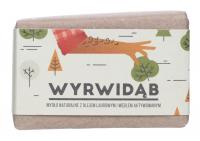 Mydlarnia Cztery Szpaki - Mydło naturalne z olejem laurowym i węglem aktywowanym dla mężczyzn - Wyrwidąb - 110 g