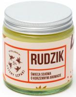 Mydlarnia Cztery Szpaki - Soy candle with a spicy aroma - Rudzik