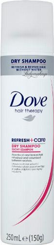 Dove - Hair Therapy - Refresh+Care - Dry Shampoo - Suchy szampon do włosów - 250 ml