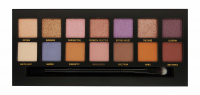 W7 - VIOLET LIGHTS - EYE COLOR PALETTE - Palette of 14 eyeshadows