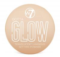 W7 - GOTTA GLOW - SETTING POWDER - Puder rozświetlający - 15 g