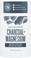 Schmidt's - Charcoal + Magnesium Natural Deodorant - Natural deodorant stick with carbon and magnesium - 58 ml