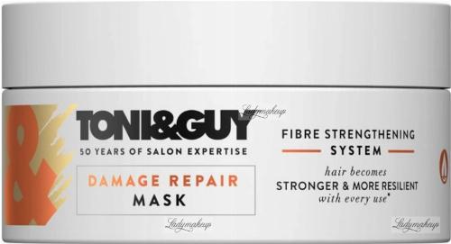 TONI&GUY - Damage Repair Mask - Regenerująca maska do włosów zniszczonych - 200 ml
