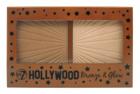 W7 - HOLLYWOOD Bronze & Glow Palette - Face contouring kit