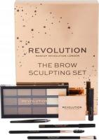 MAKEUP REVOLUTION - THE BROW SCULPTING SET - Set of eyebrow makeup cosmetics
