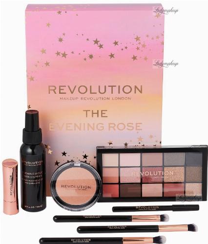 MAKEUP REVOLUTION - THE EVENING ROSE - Zestaw kosmetyków i akcesoriów do makijażu