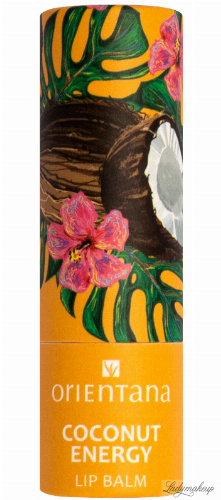 ORIENTANA - NATURAL LIP BALM - Naturalny balsam do ust - Coconut Energy - 4,2 g