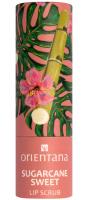ORIENTANA - NATURAL LIP SCRUB - Naturalny peeling do ust w sztyfcie - Sugarcane Sweet - 4,2 g