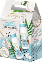 Bielenda - BEAUTY MILK - Gift set of body care cosmetics - Coconut body milk 400 ml + Coconut bath and shower milk 400 ml