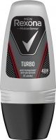 Rexona - Men- Turbo Anti-Perspirant 48H - Antyperspirant w kulce dla mężczyzn - 50 ml