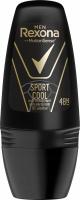 Rexona - Men - Sport Cool Anti-Perspirant 48H - Antiperspirant roll-on for men - 50 ml