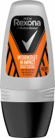 Rexona - Men - Workout Hi-Impact 48H Anti-Perspirant - Anti-perspirant roll-on for men - 50 ml