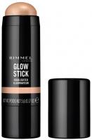 RIMMEL - GLOW STICK - HIGHLIGHTER - Rozświetlacz w sztyfcie - 001 - BUBBLY - 001 - BUBBLY