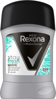 Rexona - Men - Stay Fresh Marine Anti-Perspirant - Antiperspirant stick for men - 50 ml