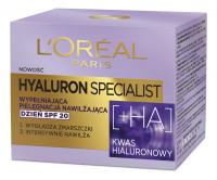 L'Oréal - HYALURON SPECIALIST - Zestaw prezentowy kosmetyków do pielęgnacji twarzy - Krem do twarzy + Krem pod oczy + Maska w płacie