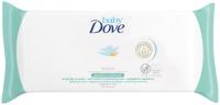 Dove - Baby - Wipes - Hipoalergiczne chusteczki pielęgnacyjne dla dzieci - Sensitive Moisture - 50 sztuk