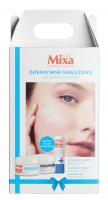 Mixa - Intensive Moisturizing - Gift Set - Hyalurogel Day Cream + Hyalurogel Cream Night Mask + Free Lip Balm