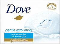 Dove - Gentle Exfoliating Beauty Cream Bar - Creamy Bar Soap - 100 g