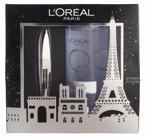 L'Oréal - Zestaw prezentowy - Tusz Bambi Eye + Płyn micelarny dla cery wrażliwej 400 ml