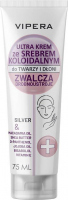 VIPERA - Face And Hand Cream With Silver - Krem do twarzy i dłoni ze srebrem koloidalnym - 75 ml