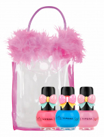 VIPERA - Tutu Set - Zestaw prezentowy 3 lakierów Peel Off dla dzieci w kosmetyczce - 14