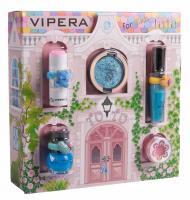 VIPERA - Magic Tutu Collection - Zestaw prezentowy 5 kosmetyków dla dzieci + Domek - 04 Turquoise Pointe