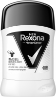 Rexona - Men - Invisible - Anti Perspirant 48H - Antiperspirant stick for men - 50 ml