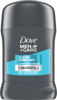 Dove - Men+Care - Clean Comfort 48H Anti-Perspirant - Antyperspirant w sztyfcie dla mężczyzn - 50 ml