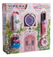 VIPERA - Magic Tutu Collection - Zestaw prezentowy 5 kosmetyków dla dzieci + Domek - 00 Mix
