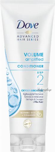 Dove - Advanced Hair Series - Volume Amplified Conditioner Step 2 Oxygen & Moisture - Odżywka do włosów cienkich i pozbawionych objętości - 250 ml