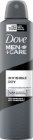Dove - Men + Care Cool Invisible Dry 48H Anti-Perspirant - Spray antiperspirant for men - 250 ml