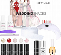 NeoNail - Wedding Shades 2nd Edition Starter Set - Hybrid Manicure Starter Set - 7786