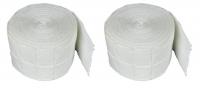 Zestaw wacików bezpyłowych - Rolka - 2 x 500 szt