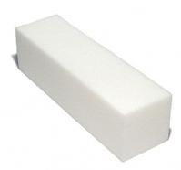 Set of 10 white polishing blocks