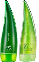 Holika Holika - MERRY CHRISTMAS 99% ALOE SOOTHING GEL - Zestaw świąteczny kosmetyków do pielęgnacji z aloesem - Shower Gel 250 ml + Soothin Gel 250 ml