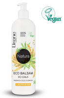 Lirene - Natura Eco Body Balm - Firming body lotion - Wheat & Hemp Oil - 350 ml