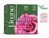 Lirene - GREEN RETINOL 60+ Odmładzający krem do twarzy na dzień - 50 ml