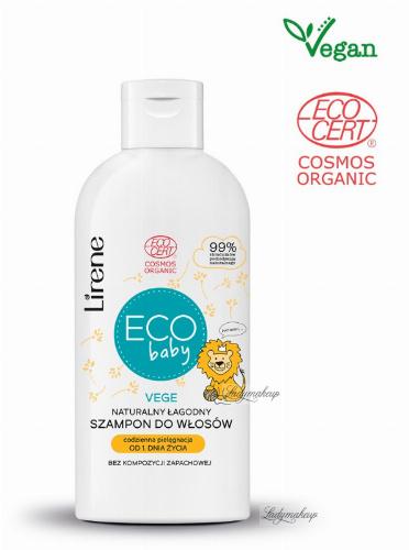 Lirene - ECO Baby - Naturalny, łagodny szampon dla dzieci od 1 dnia życia - 250 ml