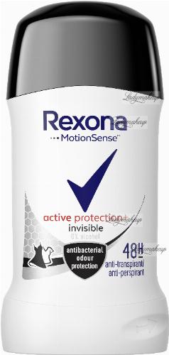 Rexona - Active Protection + Invisible Anti Perspirant - Antyperspirant w sztyfcie 48h - 40 ml