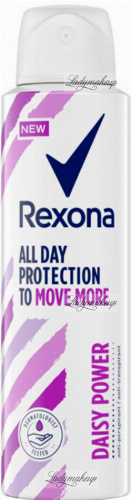 Rexona - All Day Protection to Move More - Daisy Power Anti-Perspirant - Antyperspirant w aerozolu - 150 ml