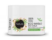 Lirene - Natura - Regenerujące masło do ciała - Kiełki Owsa & Olej z Konopi - 200 ml