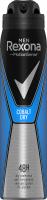 Rexona - Men - Cobalt Dry - Anti-Perspirant 48H - Antyperspirant w aerozolu dla mężczyzn - 250 ml